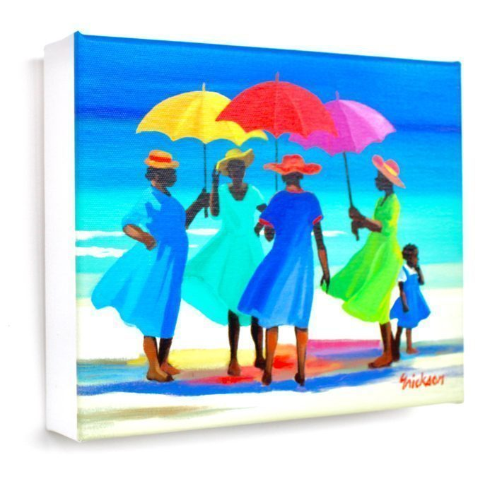 Example of Giclee Canvas Print Of Shari Erickson's Oil Painting