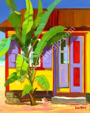 Banana Cabana Caribbean Picture By Shari Erickson