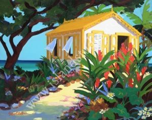 501 Bungalow Painting By Shari Erickson