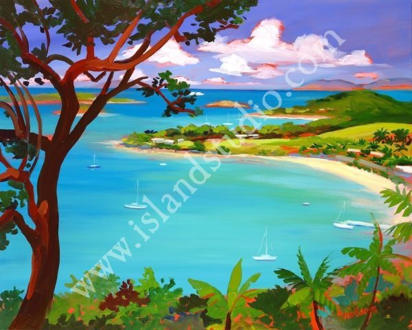 327 Caneel Landscape Painting By Shari Erickson