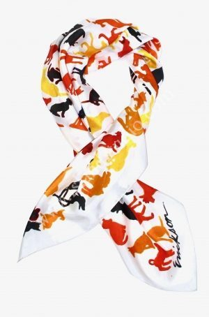 Dog Days Original Scarf By Shari Erickson